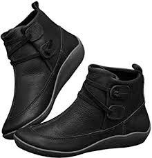 <b>2019</b> Newest <b>Women's</b> Boots, <b>Vintage</b> Leather Waterproof Arch ...