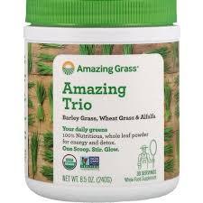 Amazing Grass, <b>Amazing Trio</b>, <b>Barley Grass</b>, Wheat Grass & Alfalfa ...