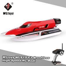 <b>WLtoys</b> WL915 <b>2.4Ghz</b> 2CH Brushless High Speed RC <b>F1</b> Racing ...
