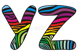 Image result for letters y z of the alphabet