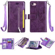 Hot-sale Women <b>PU</b> Leather <b>Trifold</b> Card Holder Phone Bag Phone ...