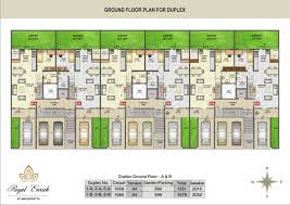 About Project   Royal Enrich at Magarpatta   Royal Properties    Royal Enrich   Row house Floor Plan