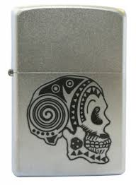 <b>Зажигалка Zippo 205 Tattoo Skull</b> в магазине подарков и ...