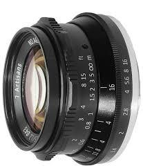 <b>Объектив 7artisans</b> 35mm f/1.2 <b>Micro 4/3</b> — купить по выгодной ...