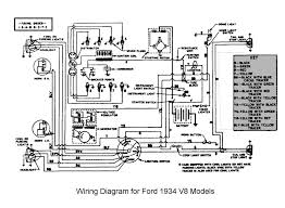 flathead electrical wiring diagrams wiring for 1934 ford car