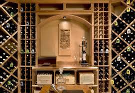 wine room design wine cellar farmhouse with butcher block cart ceiling barrel wine cellar designs