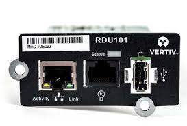 Vertiv Liebert <b>IntelliSlot</b> RDU101 <b>Communications Card</b> Datasheet