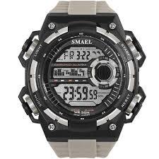 <b>Digital Wristwatches Luxury</b> Brand <b>SMAEL</b> SShock Resist Military ...