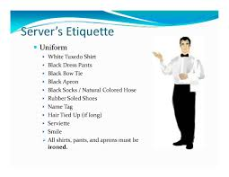 page banquet server training banquet catering menus setups page 3 banquet server training