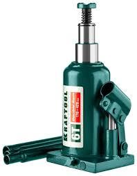 <b>Домкрат бутылочный гидравлический Kraftool</b> Double Ram 43463 ...