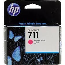 Оригинальный <b>картридж HP CZ131A</b> (№711) (пурпурный ...