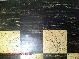 asbestos floor tiles and