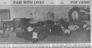 「St. Valentine's Day Massacre in 1929」の画像検索結果