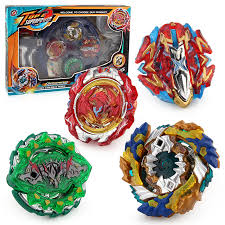 Hot 4pcs/set Arena Beyblade <b>Spinning Top</b> Metal Fight <b>Metal Fusion</b> ...
