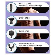 <b>BOOSTER Mini</b> Electric <b>Muscle</b> Massage Gun Pocket @ iFit