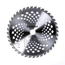 <b>Нож для триммера</b> PATRIOT TBS-40 230х25,4 мм купить по цене ...