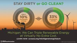 clean energy in the midwest union of concerned scientists michigan is well on its way to meeting its current 10 percent by 2015 renewable energy standard but out new policies in place to strengthen and extend