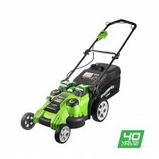 <b>Газонокосилка Greenworks</b> TwinForce G40LM49DB 40V 2500207 ...