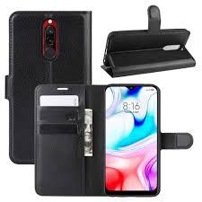 <b>CHUMDIY PU Leather Full</b> Body Phone Case for Xiaomi Redmi 8 ...