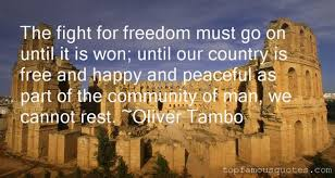 Oliver Tambo quotes: top famous quotes and sayings from Oliver Tambo
