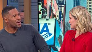 Sara Haines surprises Michael Strahan with an <b>emotional</b> birthday ...