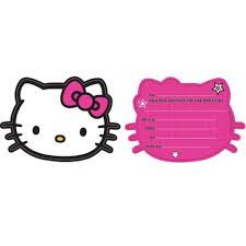 hello kitty invitations hello kitty invitation printables