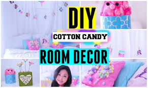 room cute blue ideas: diy spring cotton candy room decor ideas for teens cute easy amp cheap for tumblr and pinterest youtube