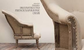 rh burlap furniture