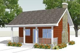 Backyard Cottage Plans   Houseplans comCottage Exterior   Front Elevation Plan       Houseplans com