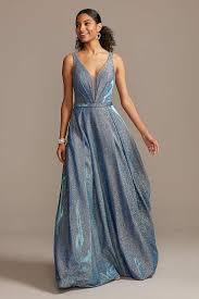 <b>Blue Prom Dresses</b>: Short & Long in Light to <b>Dark Blue</b> Hues ...