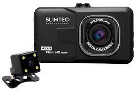 <b>Видеорегистратор Slimtec Dual F2</b>, 2 камеры — купить по ...
