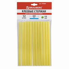 Купить <b>Клеевые</b> стержни, диаметр 11 мм, длина 200 мм, желтые ...