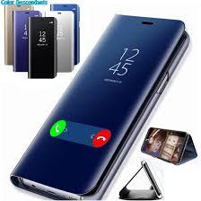 <b>Stand Flip Case For</b> Xiaomi Mi 9 A2 8 Lite A1 6X 5X F1 Mirror Phone ...