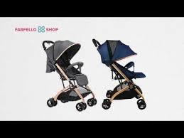 <b>Прогулочная коляска Farfello</b> QZ1 - YouTube