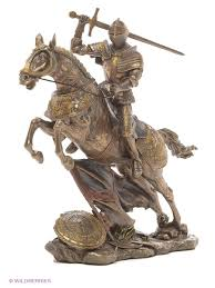 Статуэтка ''<b>Рыцарь на коне</b>'' Veronese 3147073 купить за 5 528 ...
