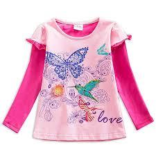 VIKITA Kid Girl Flower Short Sleeve T Shirt Tee S2111 ... - Amazon.com
