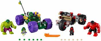 Set 76078-1 : Lego Hulk vs. Red Hulk [Super Heroes ... - BrickLink