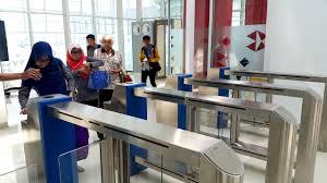 Hasil gambar untuk gambar bandara depati amir yang baru