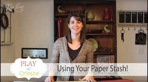 Using your <b>paper Stash</b>! - YouTube
