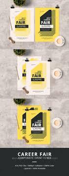 career fair flyer by tokosatsu graphicriver career fair flyer corporate flyers