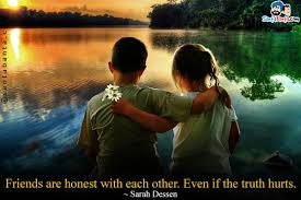 Image result for honest in friendship