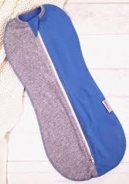<b>Спальный мешок для новорожденных</b> Супермамкет, цвет: синий ...