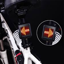 64 LED Bicycle Automatic Direction Indicator Taillight Safety ...