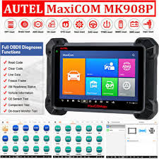 <b>AUTEL MaxiCom</b> MK908P ECU KEY Programming Diagnostic Tool ...