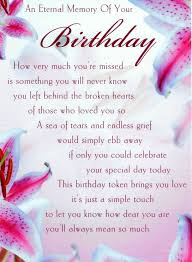 birthday in heaven for son | birthday son love and miss you always ... via Relatably.com