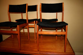 Teak Dining Room Chairs Teak Dining Room Table With 4 Chairs A Luxeredux Vintage