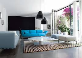 blue sofas selection for minimalist living room black lamps blue white sofas blue couches living rooms minimalist
