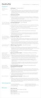 resume page border geetha pai s resume geetha pai