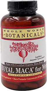 Amazon.co.jp: Whole World Botanicals <b>Royal Maca for Men</b> 500 mg ...
