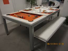 dining top pool table
